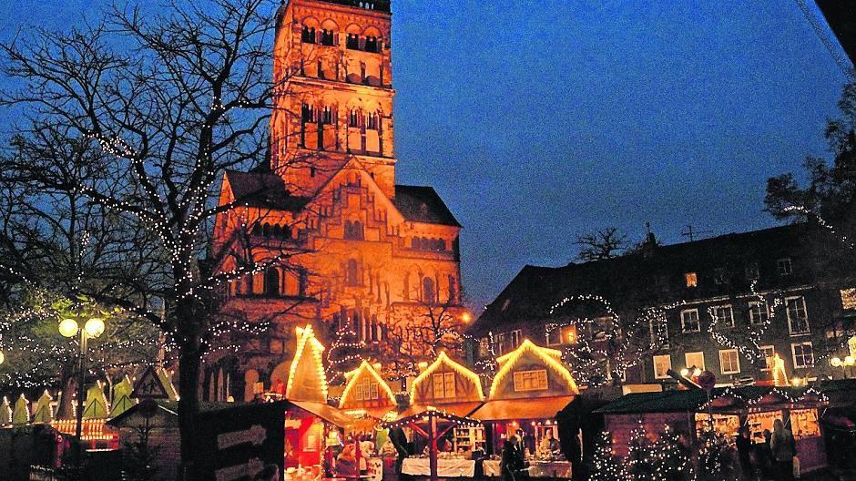 Wo Ist Heute Ein Weihnachtsmarkt.Ab Heute Hat Der Weihnachtsmarkt Am Quirinus Münster Endlich Geöffnet